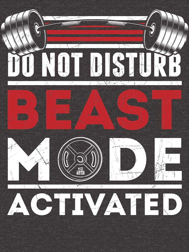 Do Not Disturb - Beast Mode Activated by THINKGAINZ