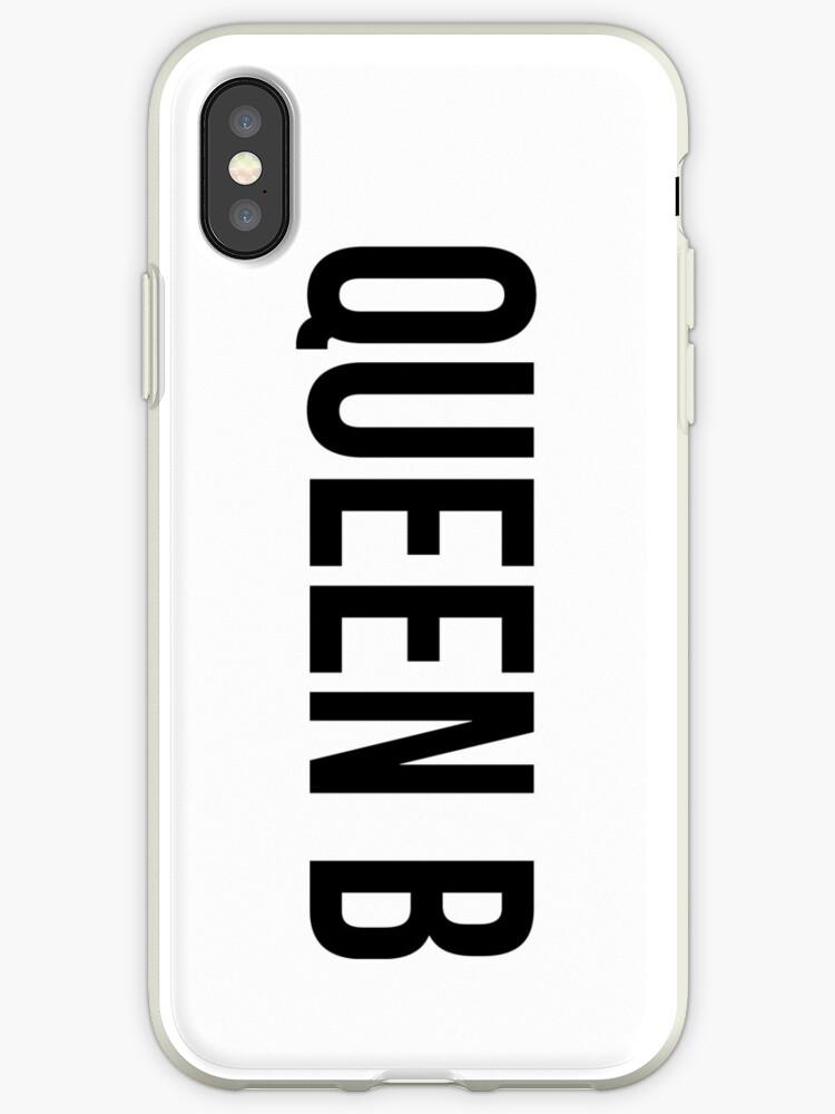 QUEEN B (iPhone, black) by eileendiaries