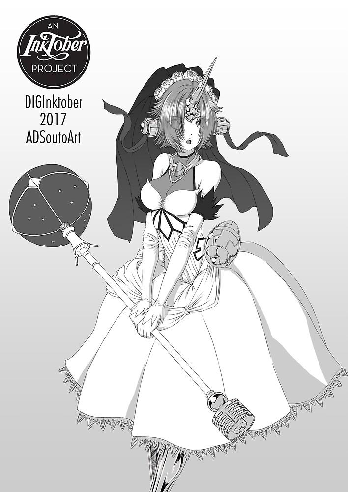 Frankenstein by adsoutoart