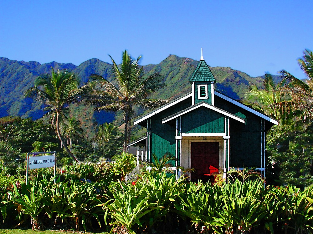 Hauula Church by THConway