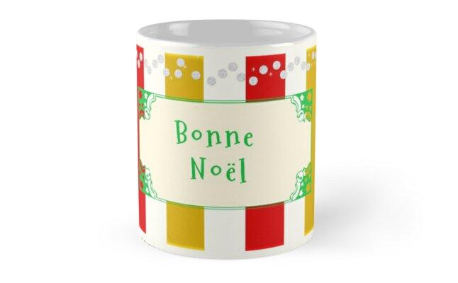 Bonne Noel Antique by Zampadoro