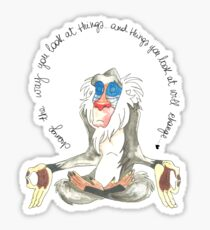 Wise Rafiki Sticker