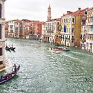 View of Tower Clock - Campo Santi Apostoli - Grand Canal - Venice by Yannik Hay