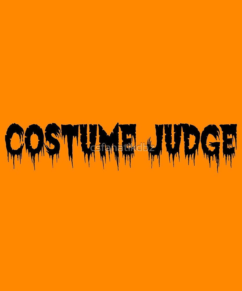 Costume Judge (black) by csfanatikdbz