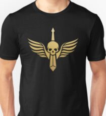 Dark Angels Gold Warhammer 40000 Inspired T-Shirt