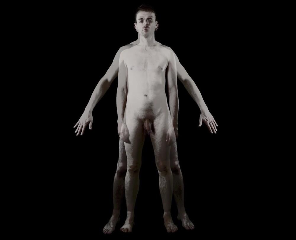 Gaytruvian man (Gayndr) by Dave Andrew Skinner