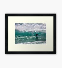Clean and Clear Framed Print