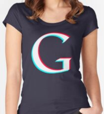 Googleplier logo Women's Fitted Scoop T-Shirt