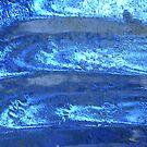 Waves of Crystal Blue by Rebekah  McLeod