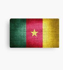Cameroon Flag Canvas Print