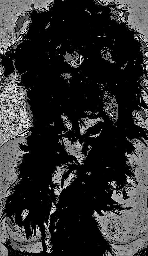 The Raven by Desertgypsi