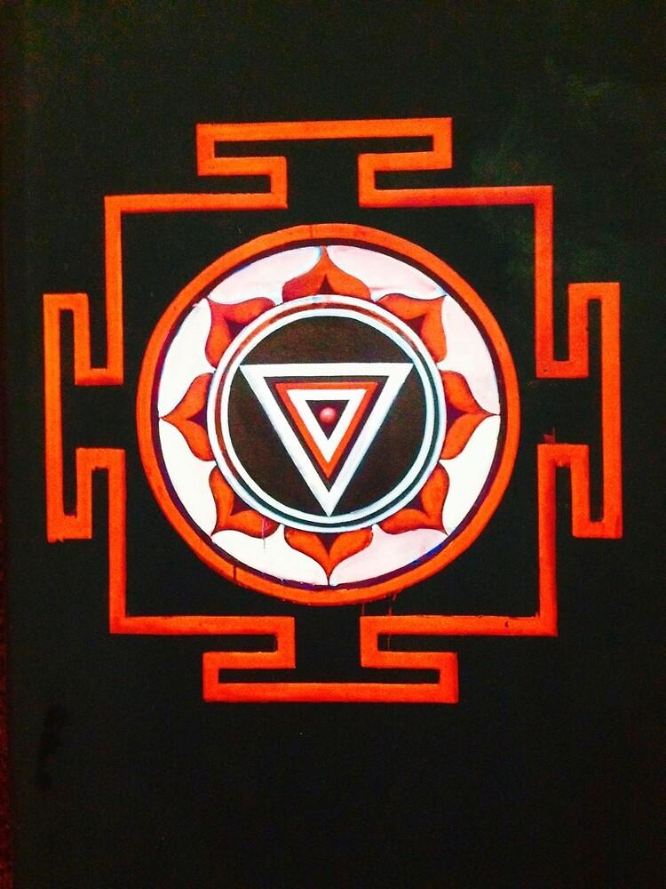 Kali- Great Goddess Tantric Mandala by Timaeon