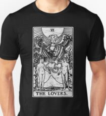 The Lovers Tarot Card - Major Arcana - fortune telling - occult Slim Fit T-Shirt