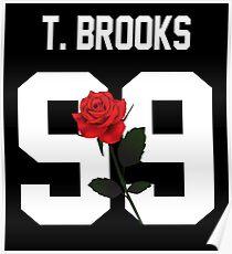 Tessa Brooks - Rose Poster