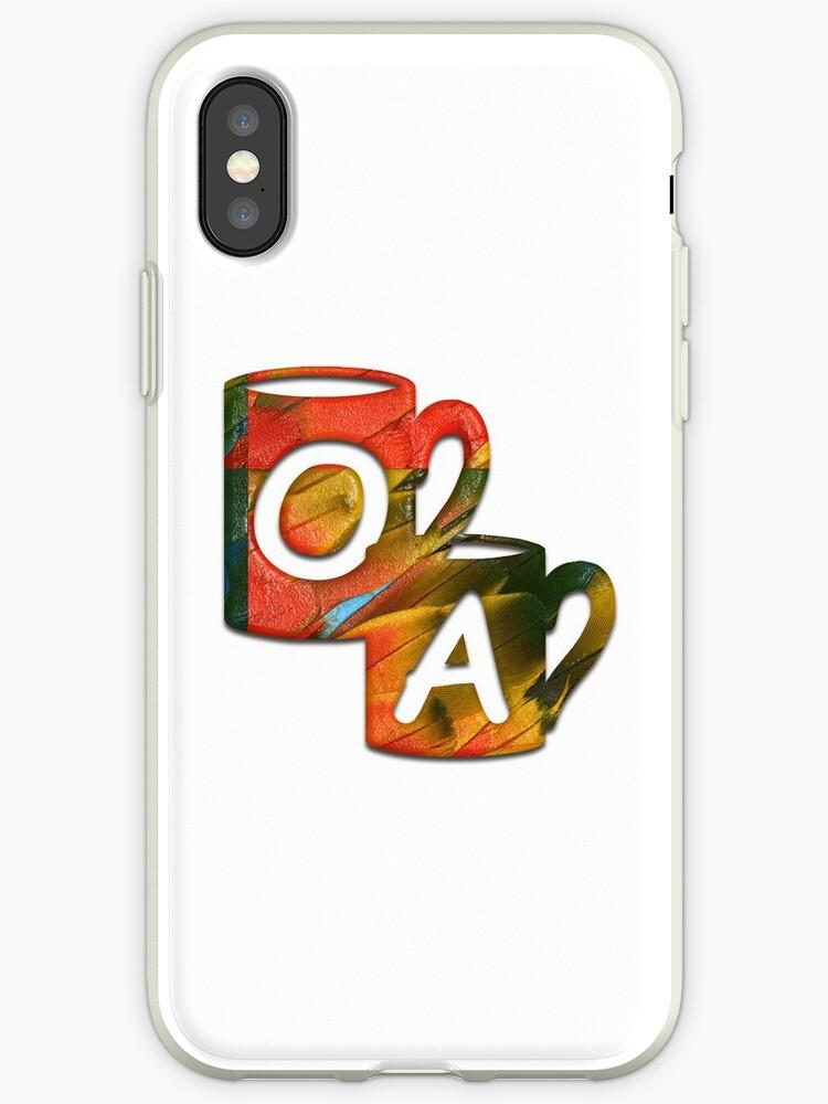 Double Monogram - OA - Coffee Cups by Studio-CFNW11
