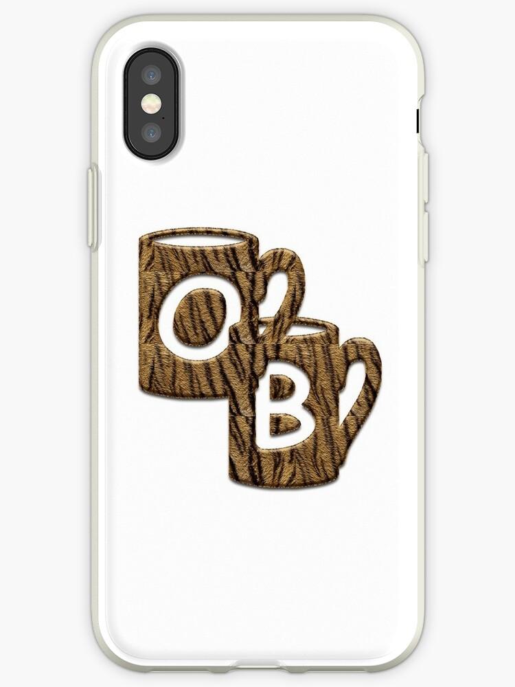 Double Monogram - OB - Coffee Cups by Studio-CFNW11