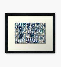 Cool Knit Framed Print