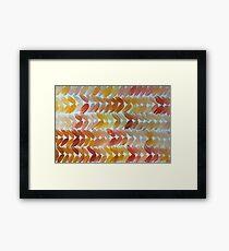 Warm Knit Framed Print