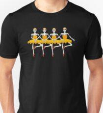 Halloween for Dancers Funny Skeleton Ballerinas T-Shirt