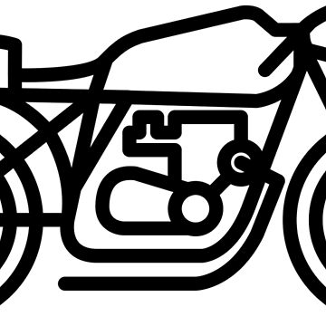 RIDEWELL Moto Logo - The Little Rat by ridewell