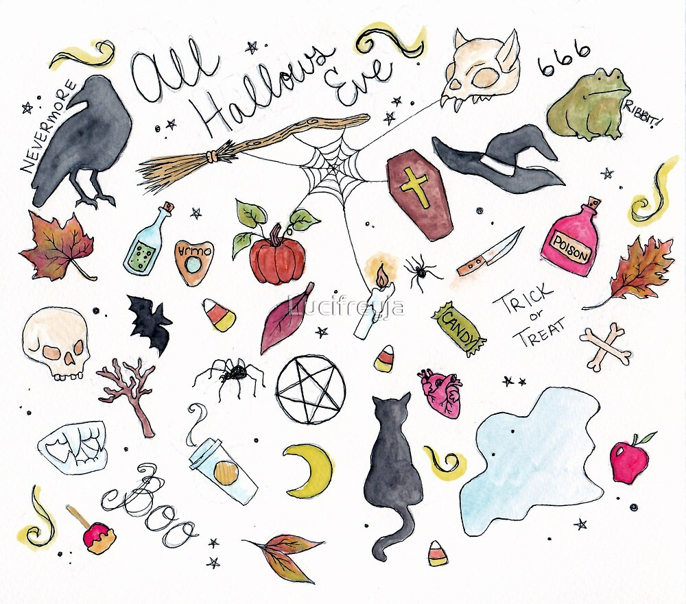 All Hallow's Eve by Lucifreyja