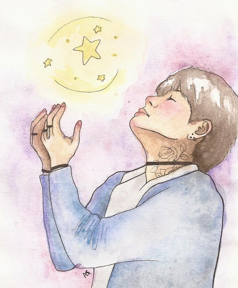 Star Search (Taehyung) by adrustuffs