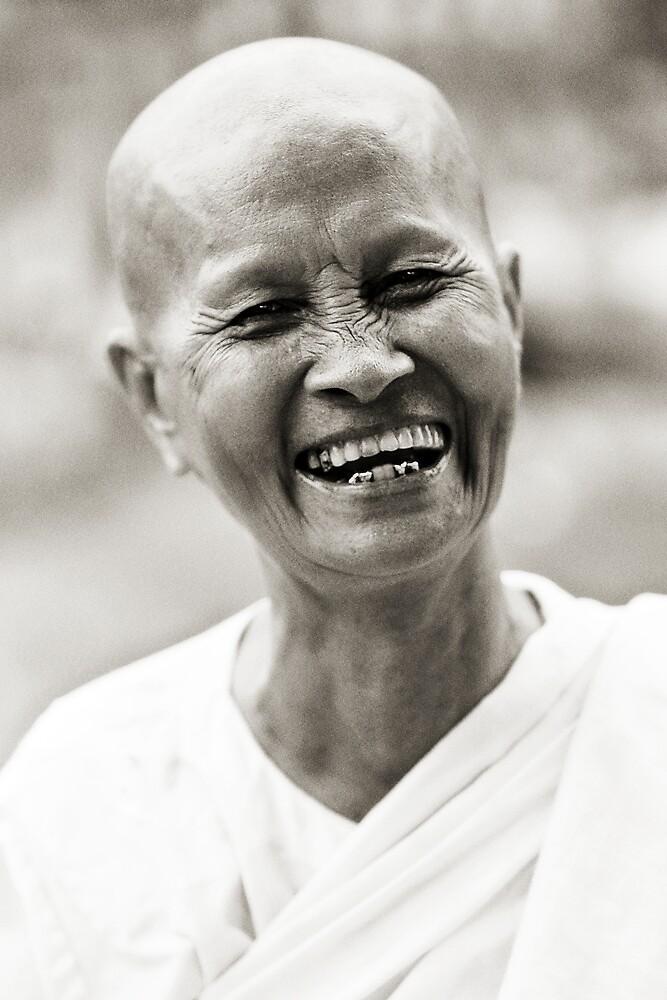 Buddhist Nun by Anthony Begovic