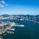 Hong Kong skyline by kawing921