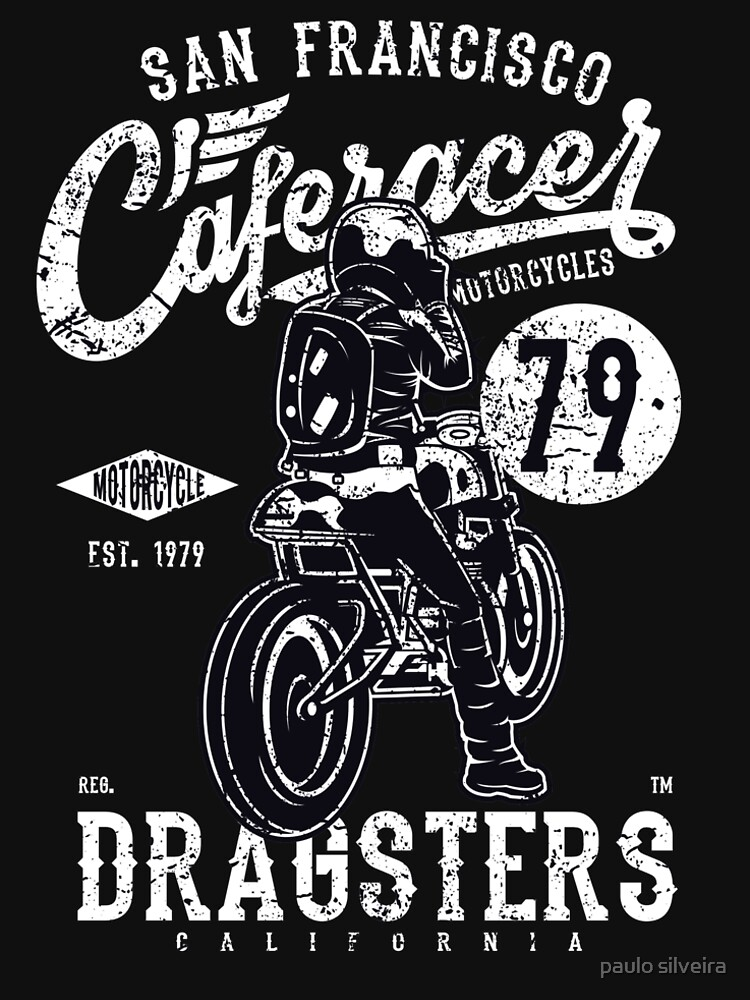 Dragster CafeRacer Motorcycle by hypnotzd