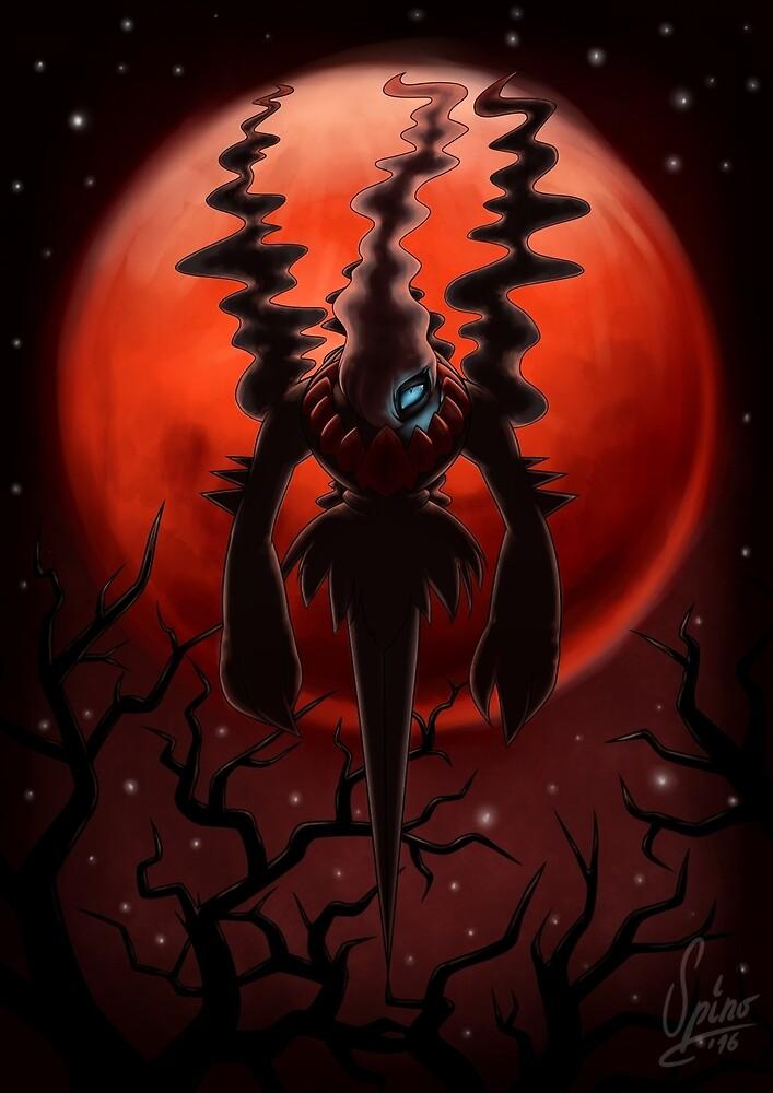 Blood Moon Darkrai by Spino