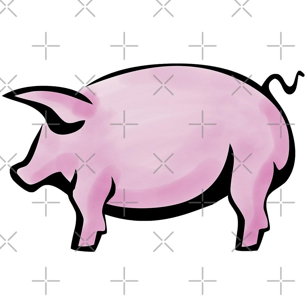 Pink Pig, Pink Pork, Porkiness, Porkiness.com by Scott Sakamoto
