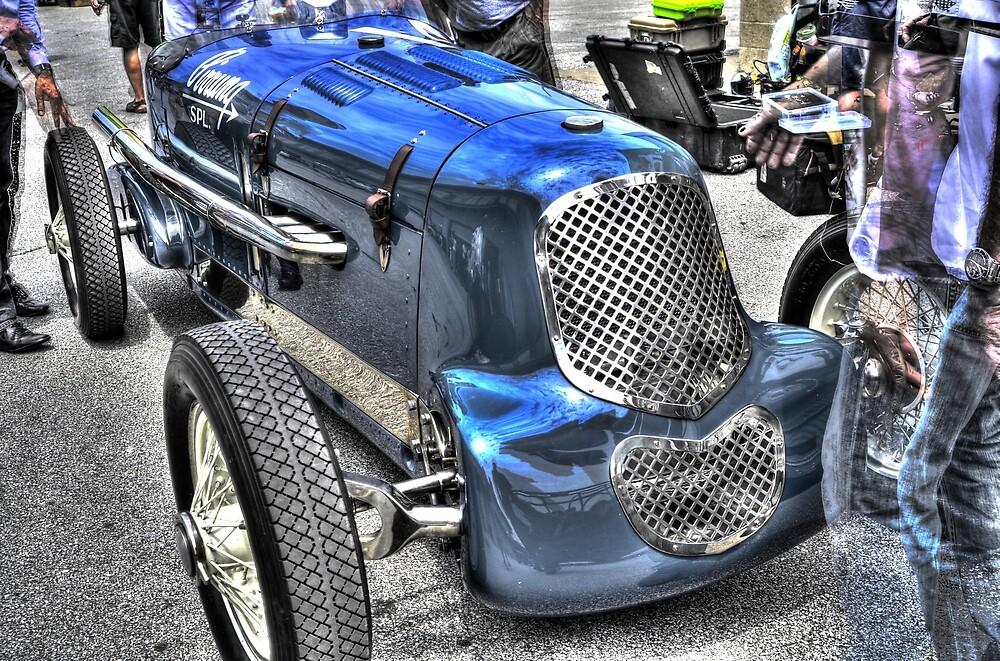 Indy 500 Vintage Car by JoshWilliamsph
