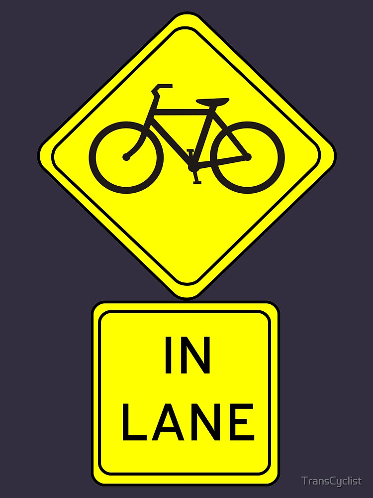 Bicycle In Lane by TransCyclist