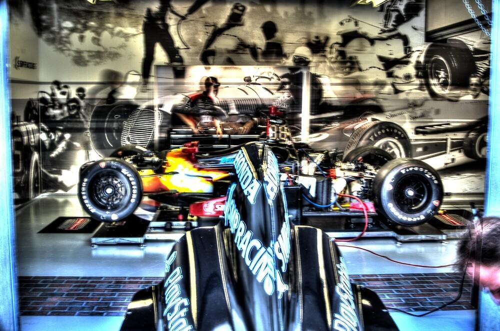 Indy 500 Gasoline Alley Garage by JoshWilliamsph