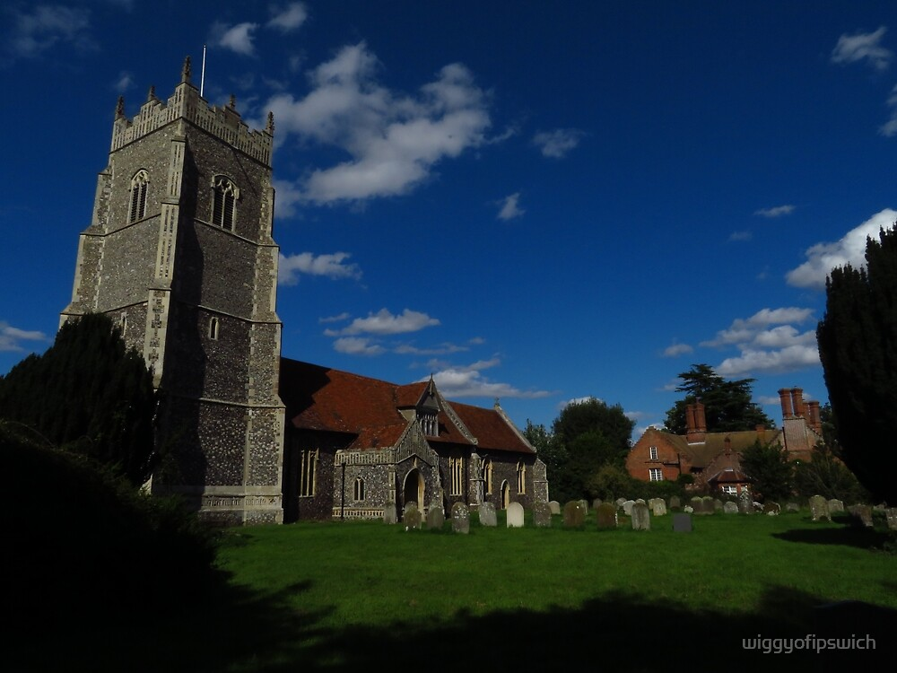 St Mary's & The Old Rectory, Helmingham by wiggyofipswich