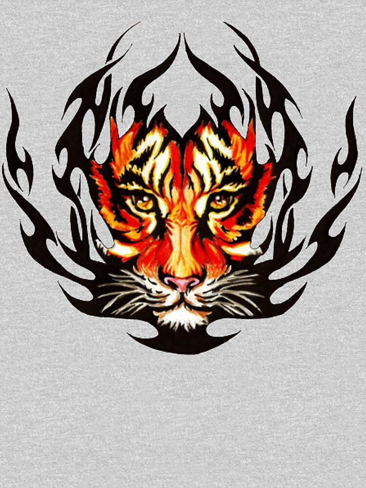t-shirt tiger by christianoo