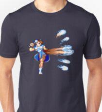 CHUN LI ATTACKS Unisex T-Shirt