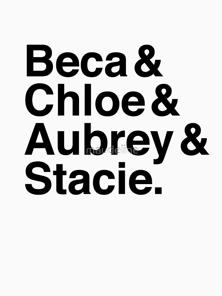 Bechloe Steca Pitch Perfect by maudeline