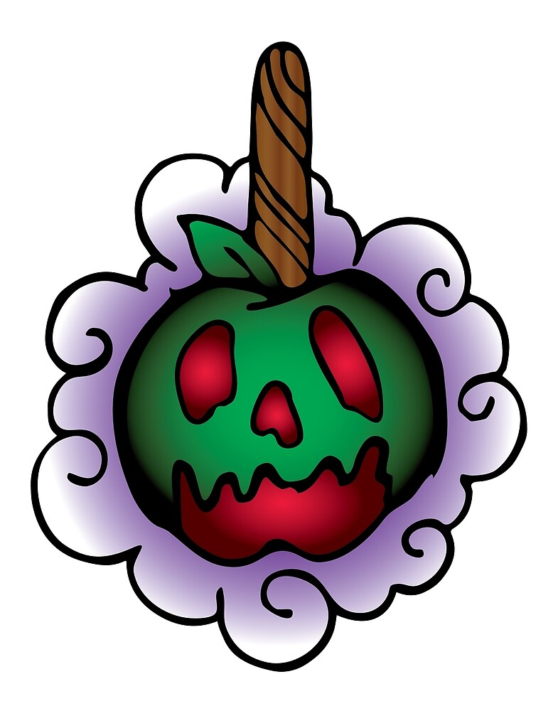Spooky Cute Candy Apple by pipshopd