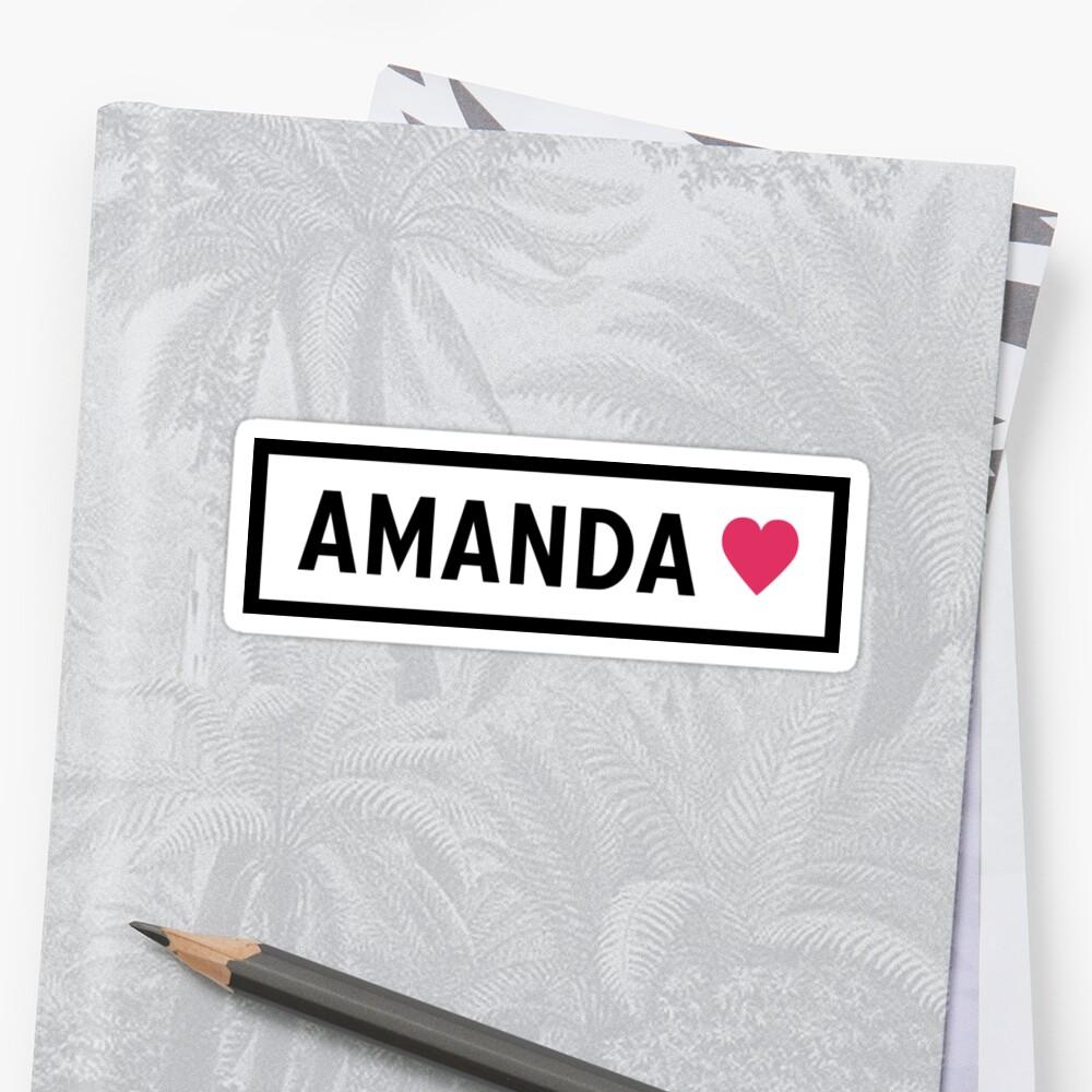 Amanda by love2
