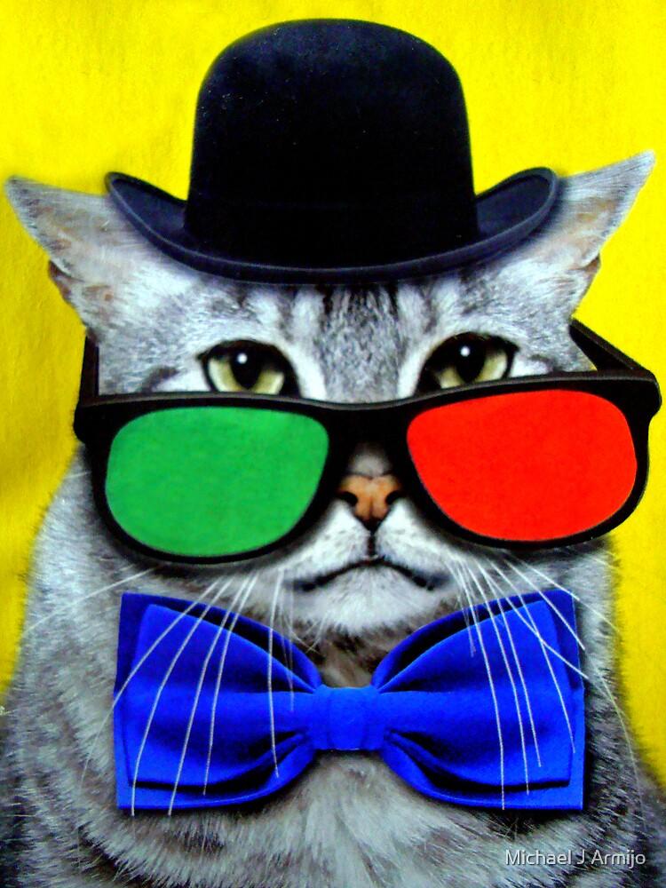 Fashionable Kitty by Michael J Armijo