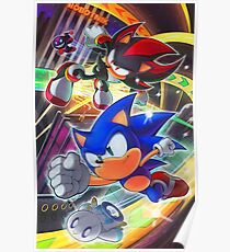 Sonic and Shadow: Hedgehog Alliance Poster