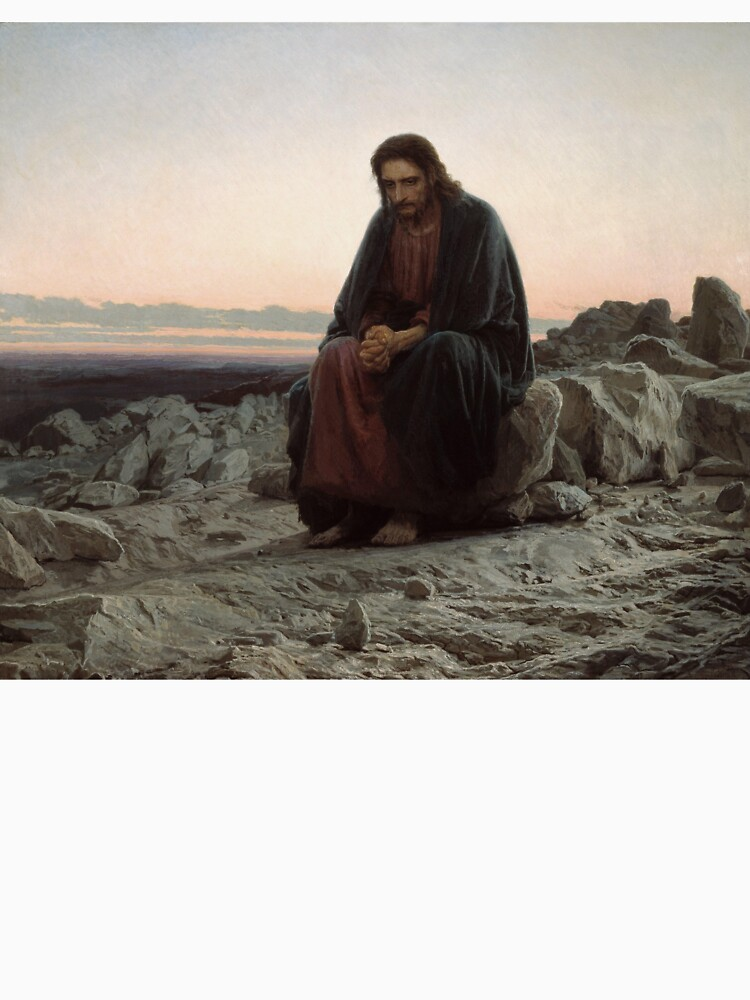 Jesus in the wilderness by GaBe141
