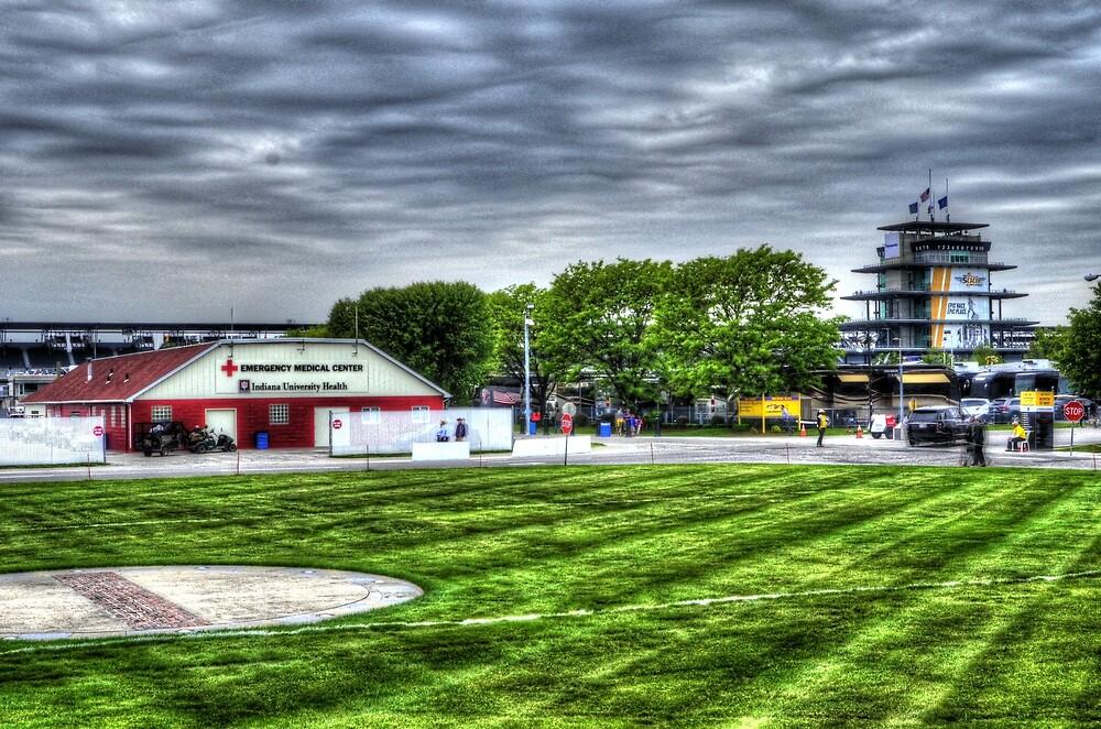 Indy 500 Hospital by JoshWilliamsph