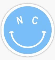 UNC Smiley Sticker