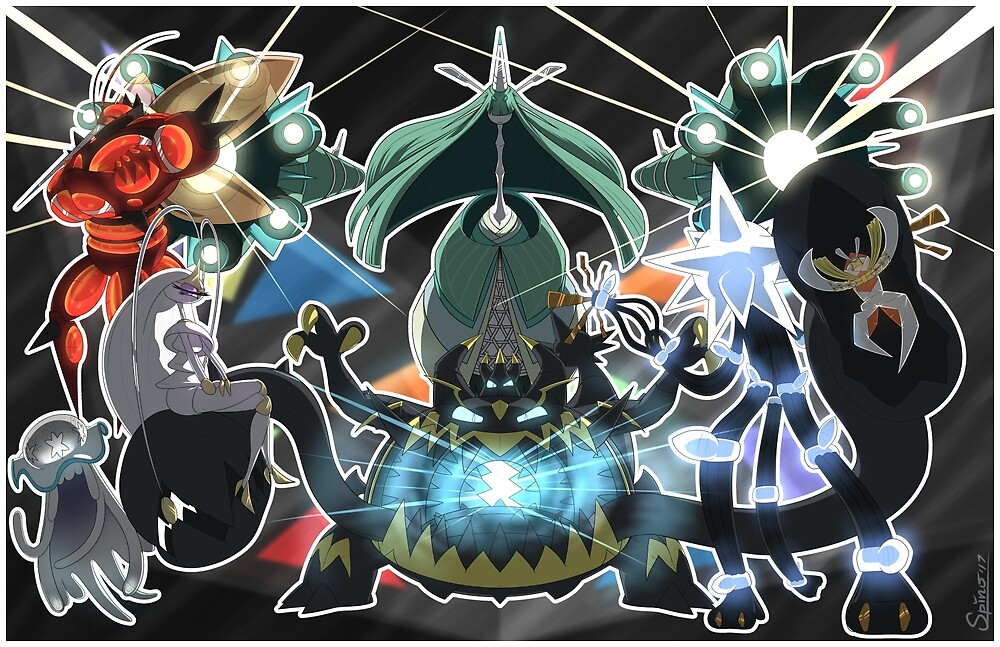 The Ultra Beasts Squad! by Spino