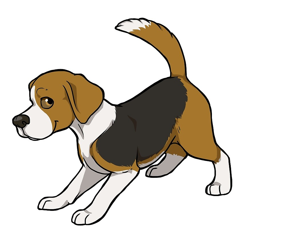 Beagle (tricolour) by KiwiJP