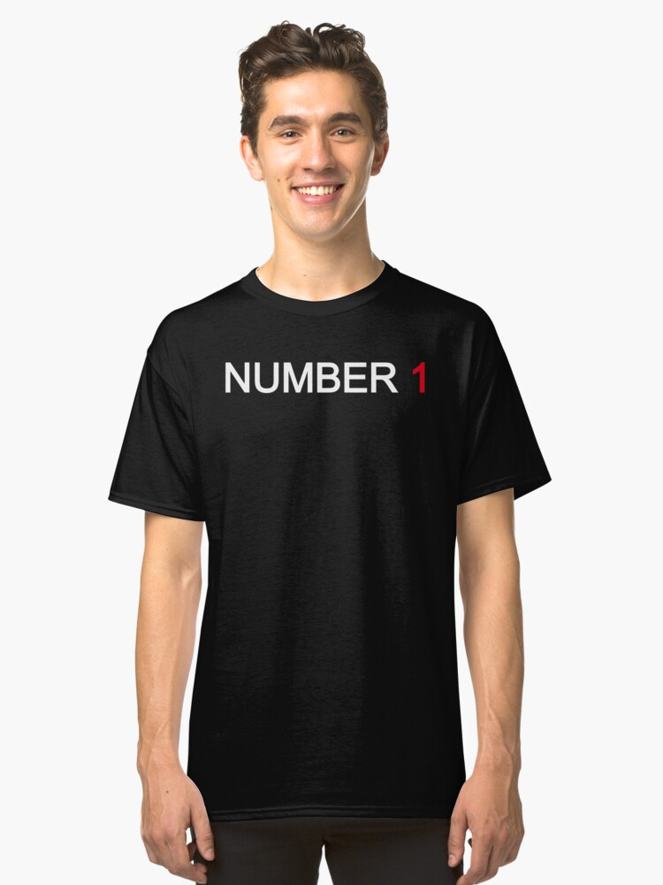 NUMBER 1 Classic T-Shirt Front