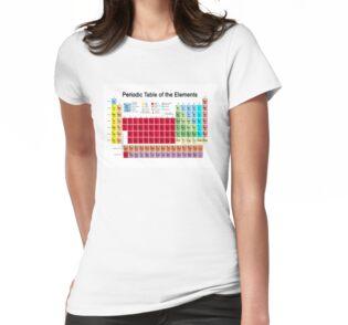 Bloques acrlicos tabla periodica de los elementos de carol and camiseta para mujer urtaz Choice Image
