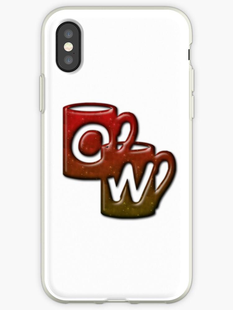 Double Monogram - OW - Coffee Cups by Studio-CFNW11